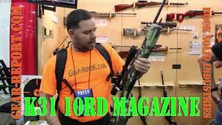 Rock Solid Industries K31 10 round magazine - NRA Meetings & Exhibits 2016 - Gear-Report.com