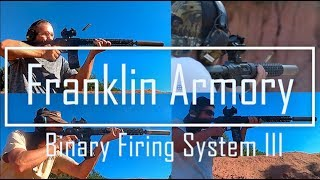 New Franklin Armory BFS Trigger - Binary Firing System First