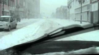 Minnesota Winter Blizzard of 2012 RAW & UNCIRCUMCISED