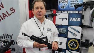 Faxon Firearms AR15 barrels, upper & carbon fiber handguard - NRA 2016 - Gear-Report.com