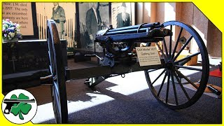 Colt Gatling Gun & Resting Place - J.M. Davis Arms And Historical Museum (Tour)
