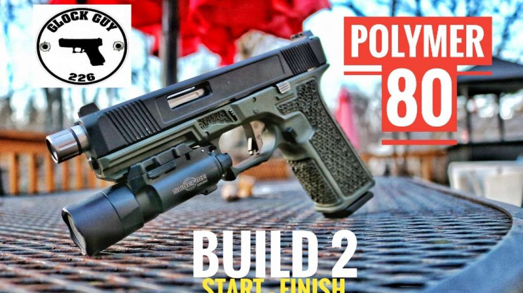 ⚡POLYMER 80 V2 STEP BY STEP BUILD⚡
