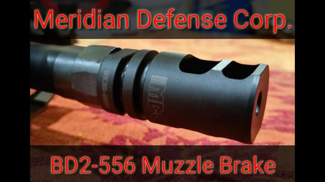 BD2-556 Muzzle Brake by Meridian Defense Corp