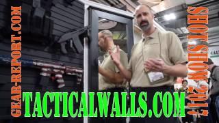 Tactical Walls Gun Storage - SHOT Show 2017 - Gear-Report.com