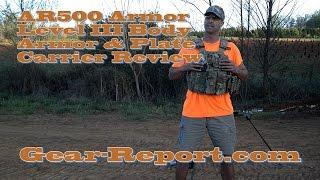 AR500armor.com Level III body armor & Condor plate carrier intro review Gear-Report.com: