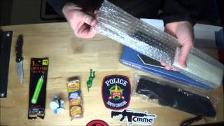 Mail Call Mystery Box unboxing Likeakidagain