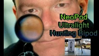 NeoPod Ultralight Hunting Bipod