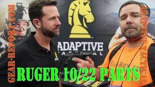 Adaptive Tactical Ruger 10/22 Charger stock & 10/22 rifle stock - NRA Show 2016 - Gear-Report.co