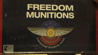 Freedom Munitions unboxing and initial impressions