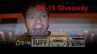 AR Giveaway #JustinsFinalMission *Closed*
