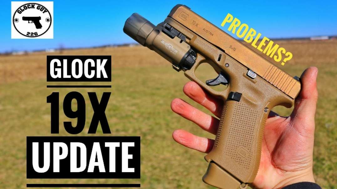 GLOCK 19X 400 ROUND UPDATE! ISSUES?