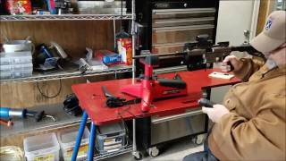 Shooting Aero Survival Rifle 45ACP With Primary Arms ACSS Red Dot Sight