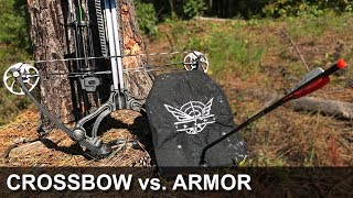 Can a crossbow defeat body armor?