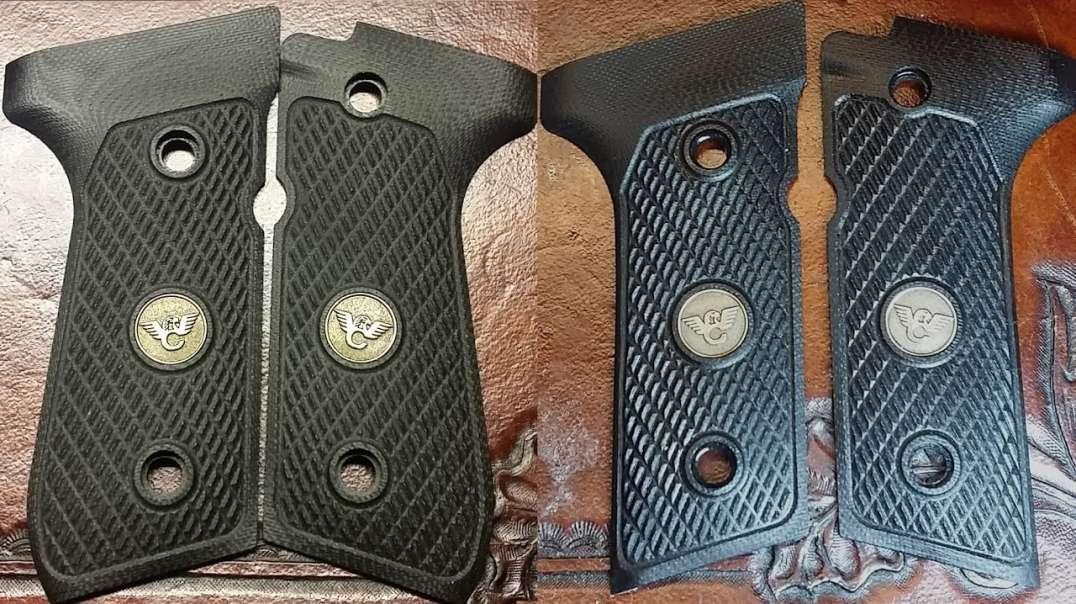 Beretta 92FS Vertec Grip Conversion Part 3