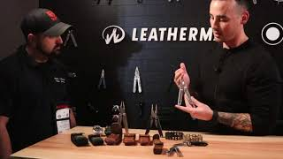 Leatherman for 2018 - Updated WAVES and Treads and Tan Coyotes Galore