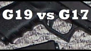 Glock 19 vs Glock 17 - Which is Better?