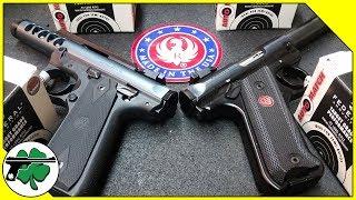 Ruger MK4 Target Vs Ruger MK4 22/45 Lite - Bench Review