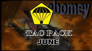 June Tac Pack      and Giveaway
