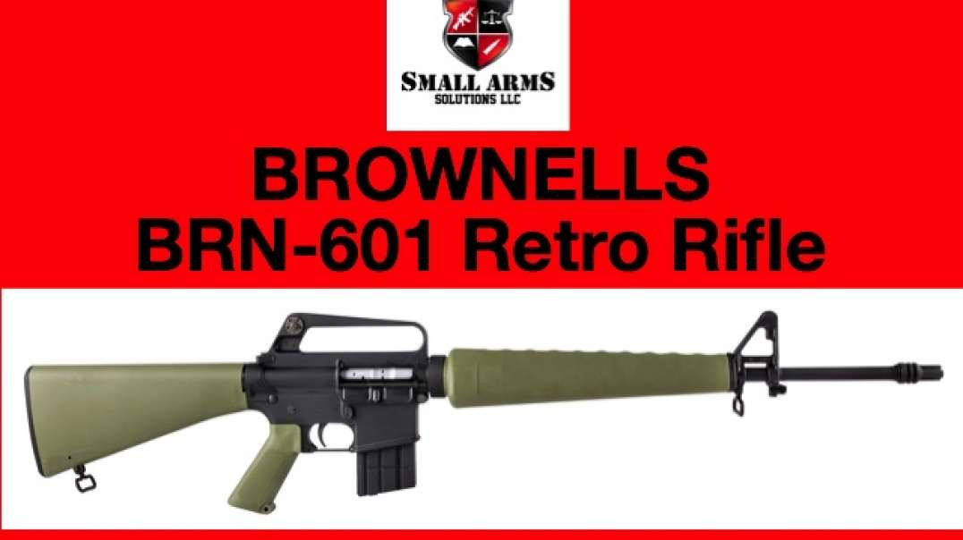 A REVIEW OF THE BROWNELLS BRN-601