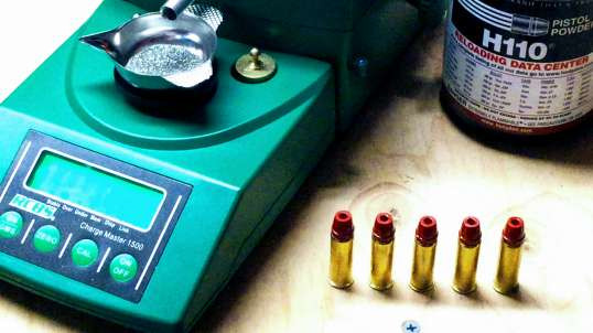 Loading .44 Magnum for the Powder Coated Cast Lead Hollow Point Bullet Test