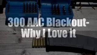 300 AAC Blackout  - Why I Love It (Compatibility, Versatility, Re-loading, Applications)