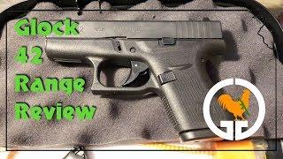 Glock 42 Range Review