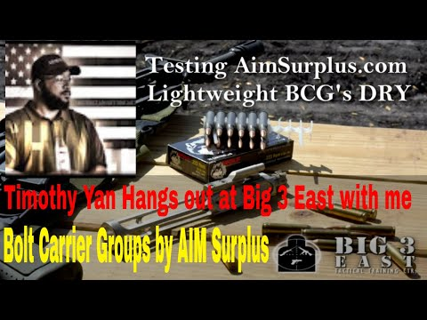 Aim Surplus Light Weight Lo Mass BCG's with Tim Yan