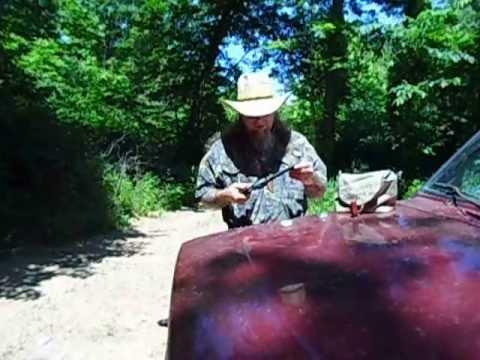 Snake loads for Black Powder revolvers