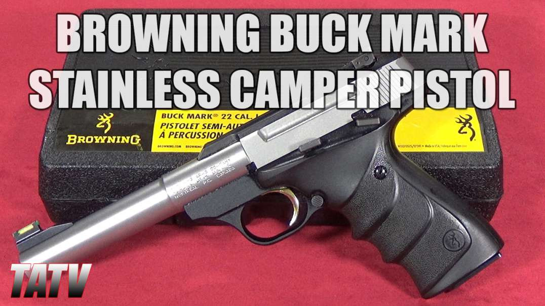 Browning Buck Mark Stainless Camper Pistol