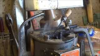Smoke Exhaust System for lead casting