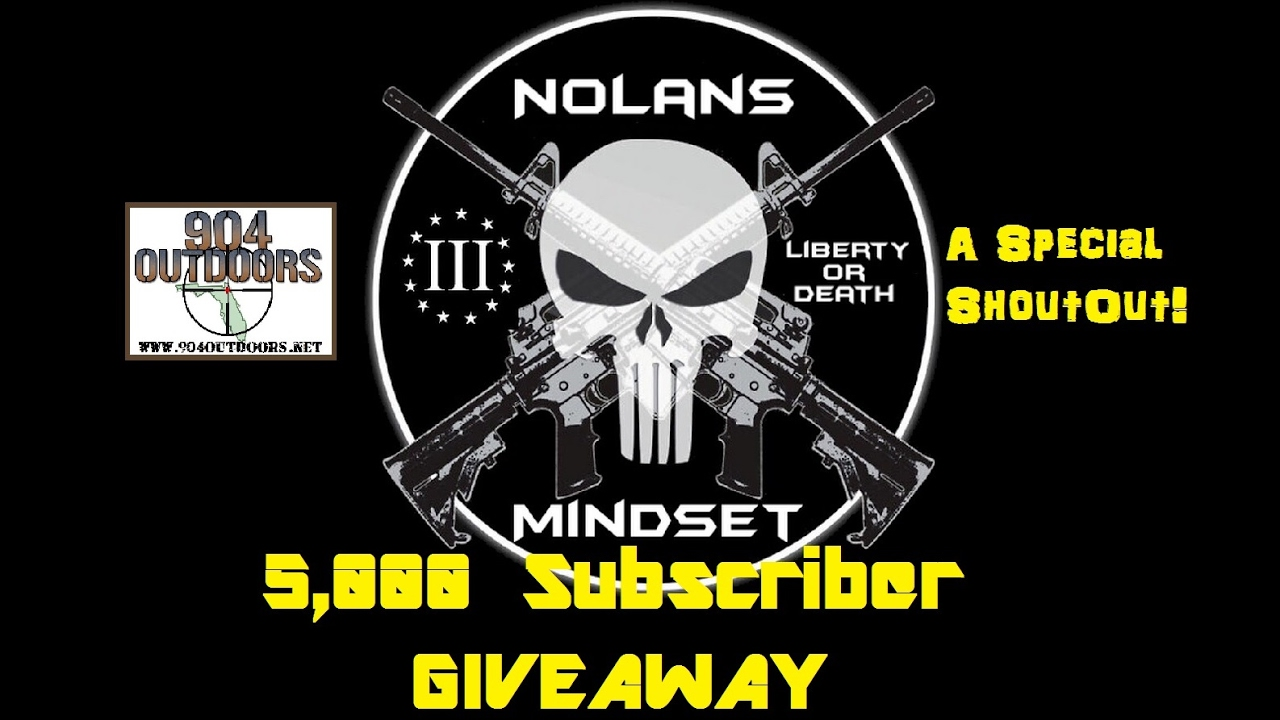Nolan's Mindset 5K Giveaway VR, and Special Shoutout! Plus Channel Update!