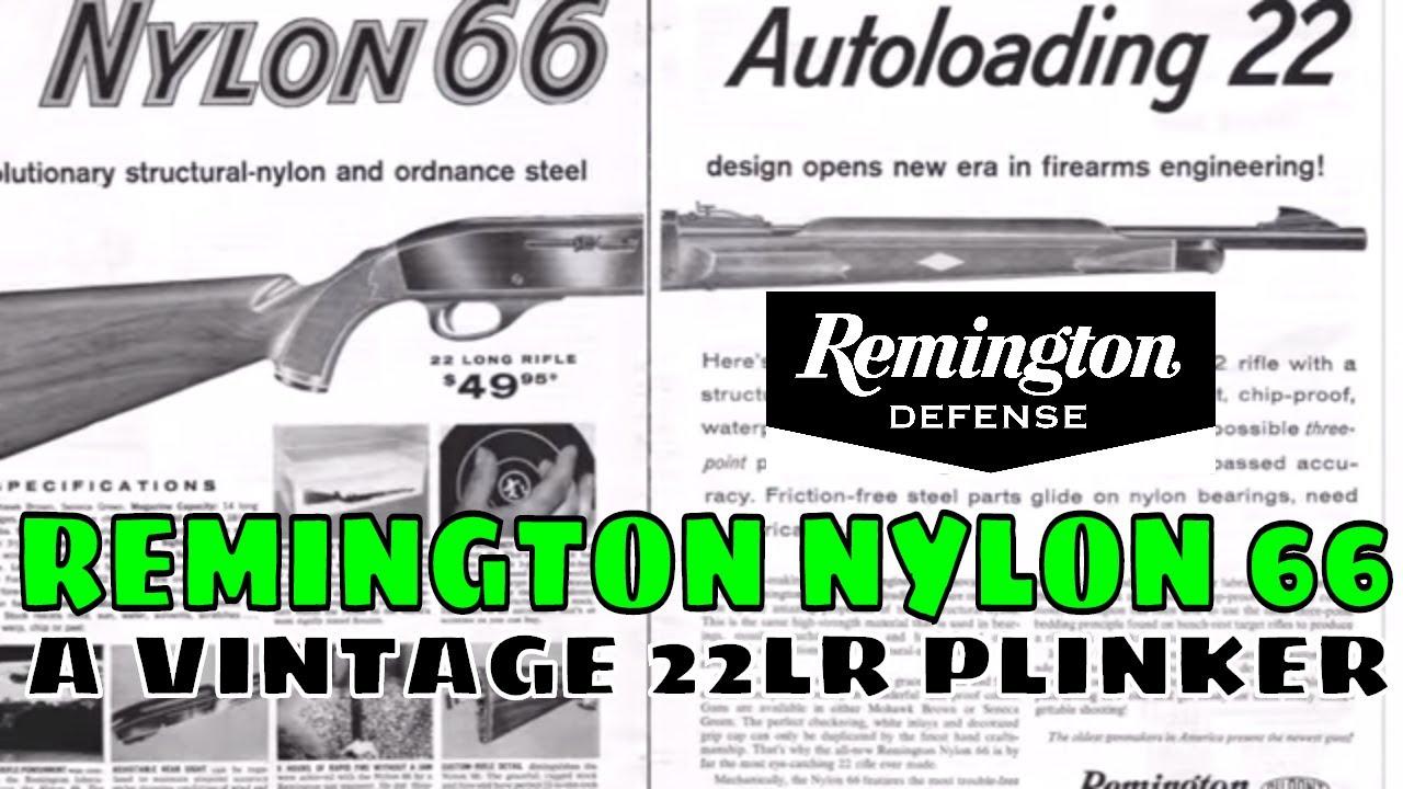 Remington Nylon 66 and Zombie Squirrels!!!