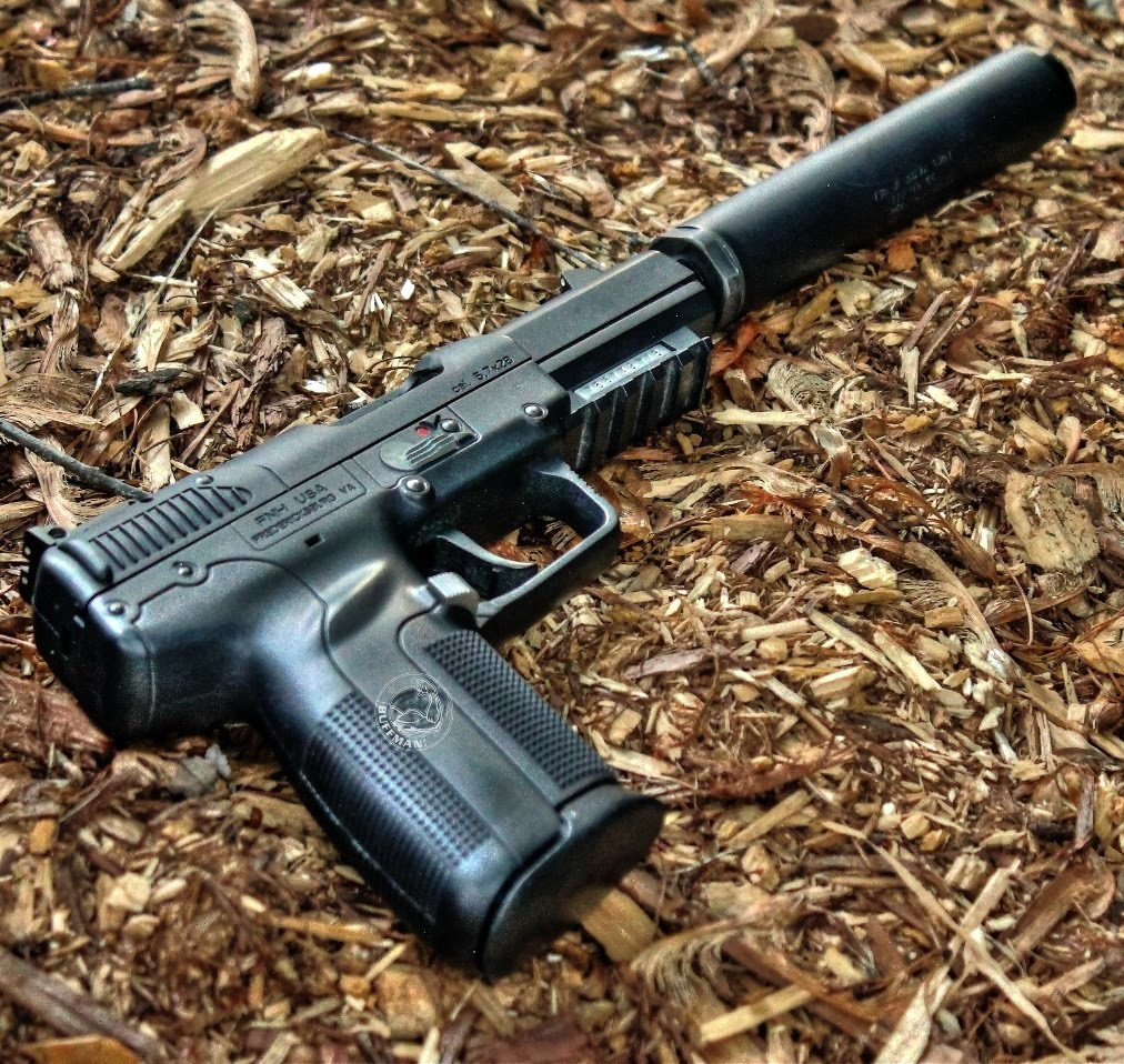 Suppressed FN Five-seveN! Factory Subsonics, Splinter Cell!