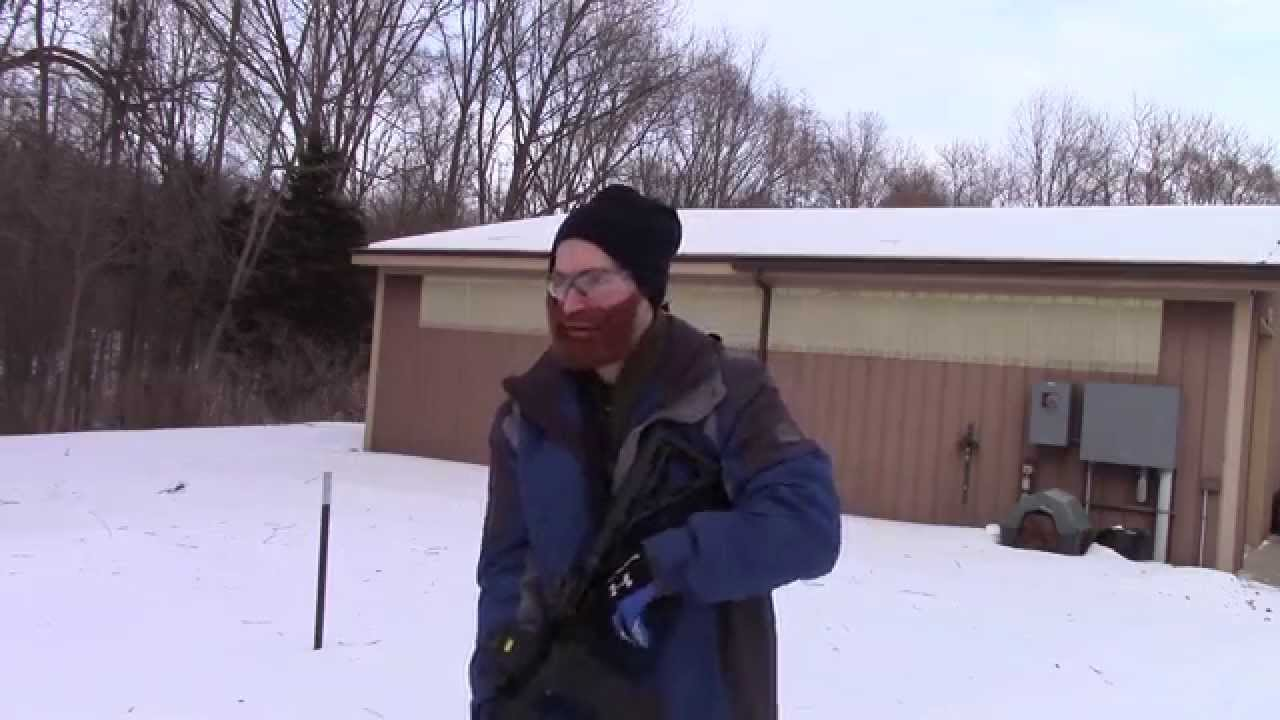 Do Firearms Operate when it's 0*F Outside?