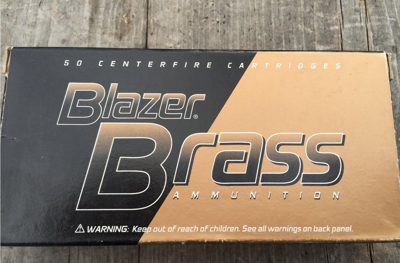 9x19mm, 115gr FMJ (#5200) CCI Blazer Brass Velocity Test