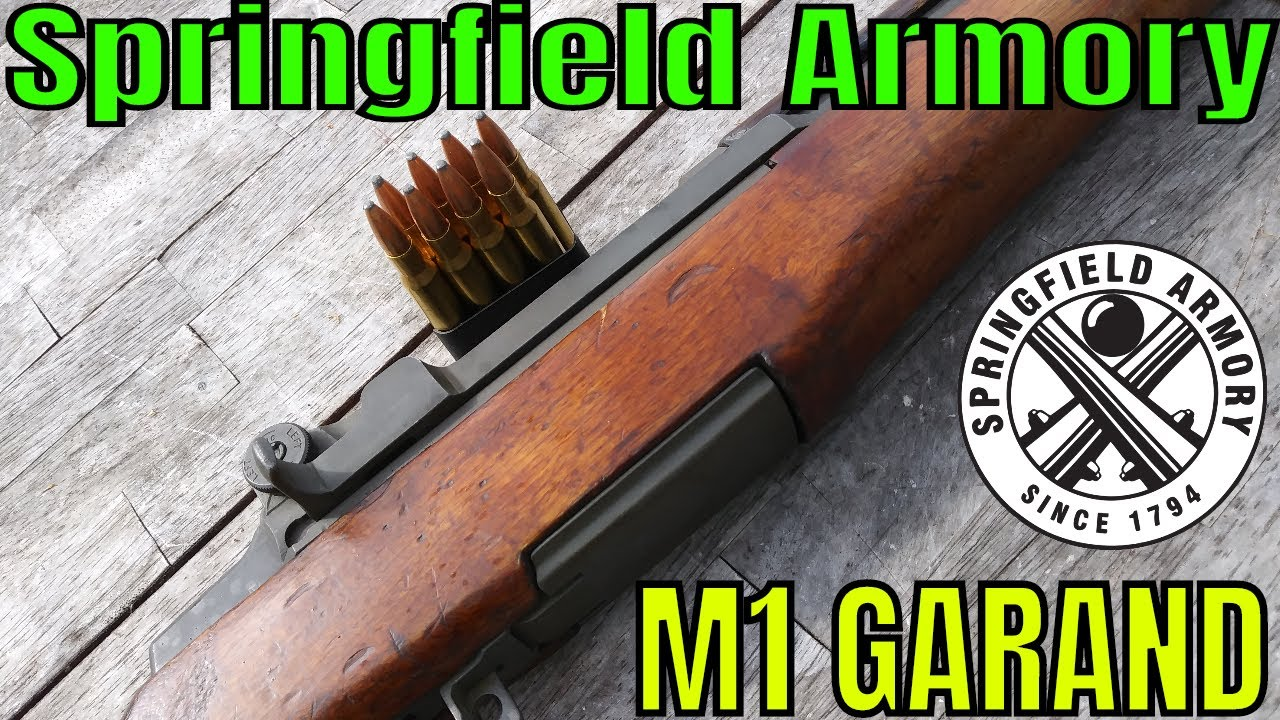 Springfield Armory M1 Garand - 30-06 - World War II Relic at the range!