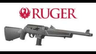 Ruger PC 9mm Carbine Blastin'