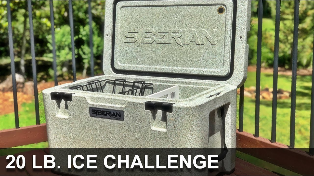 Siberian Cooler Review - 20 Pound Ice Challenge