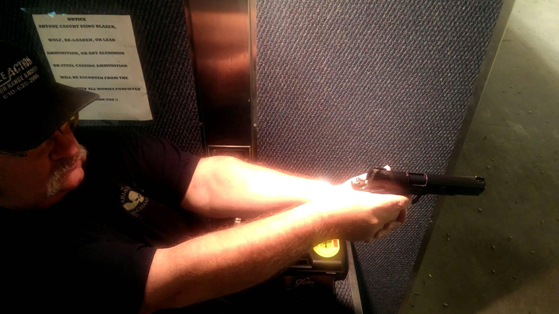 22 Handgun Shooting