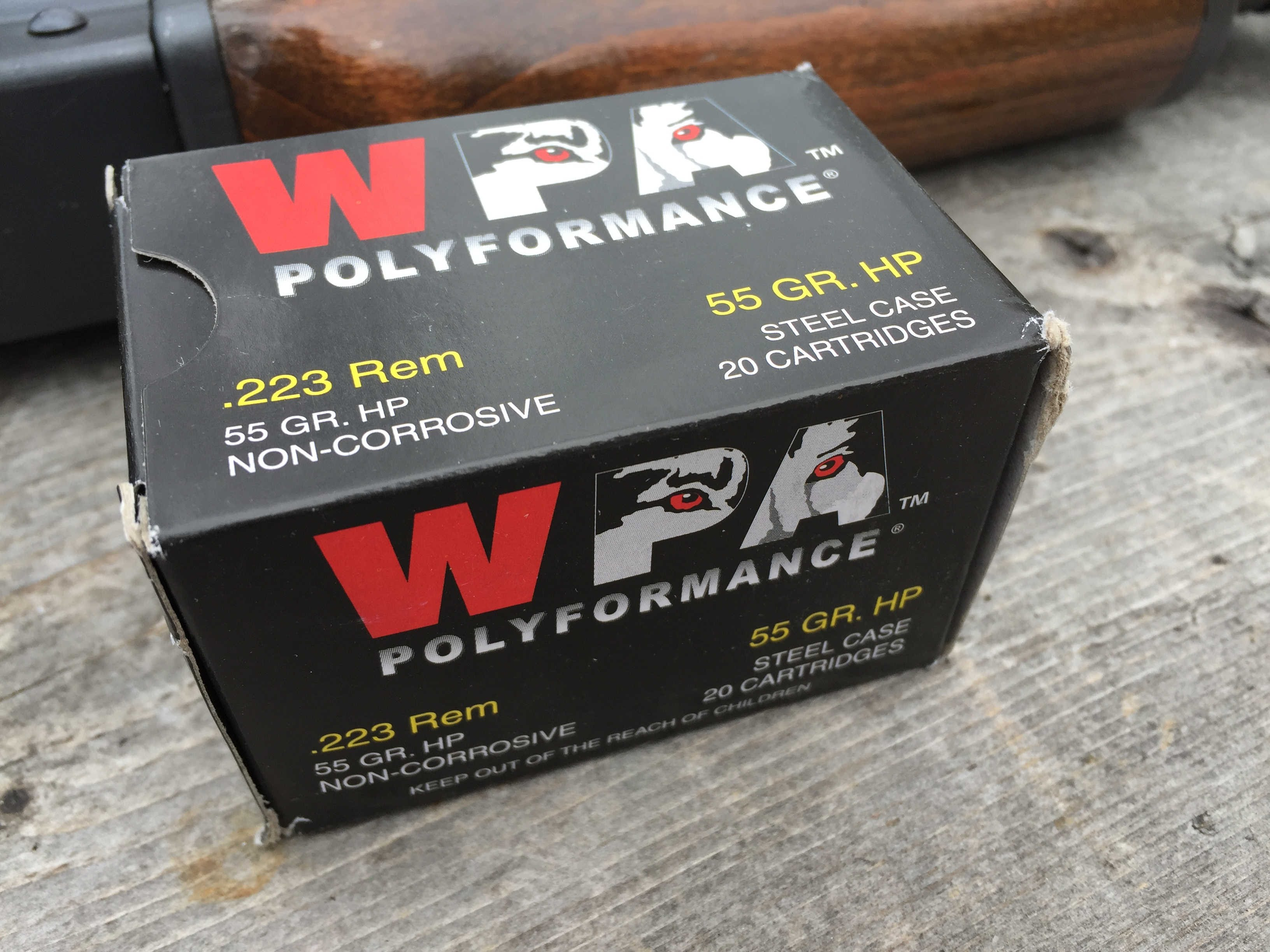 .223 Remington, 55gr HP, Wolf Polyformance, Velocity and Gel Test