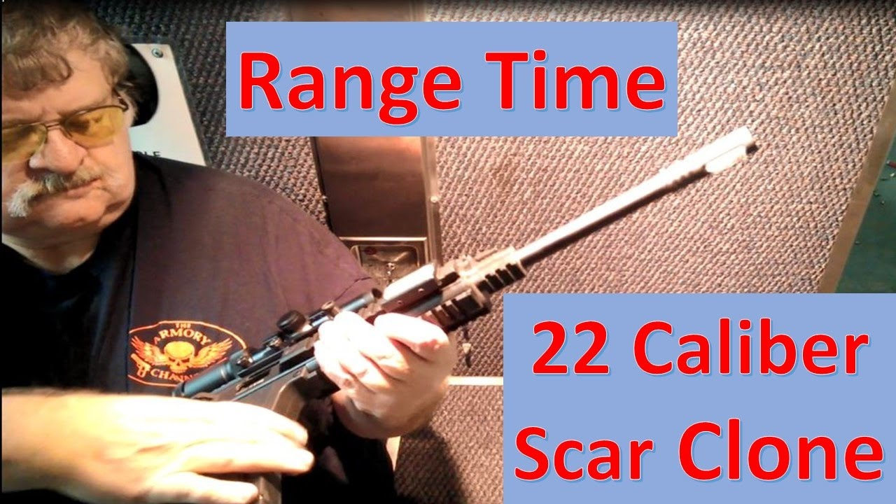 Range Time   22 Caliber ScarClone