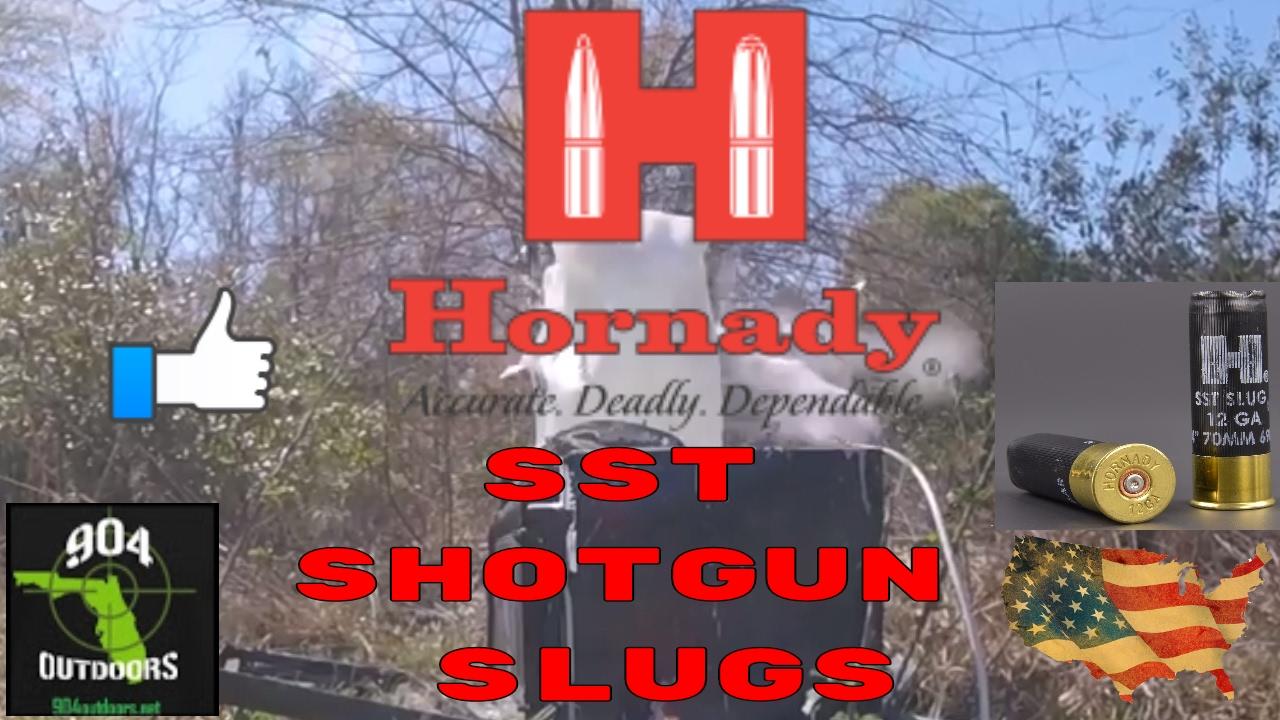 Hornady SST 12ga. Ballistic Tip 70mm Slugs! Our Ammo Review!