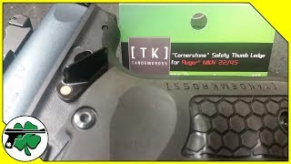 Tandemkross Cornerstone Safety Thumb Ledge - Ruger MKIV 22/45 Installation