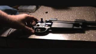 Argentine 1909 Mauser Bold Trigger install  large ring Mauser action  pt.3