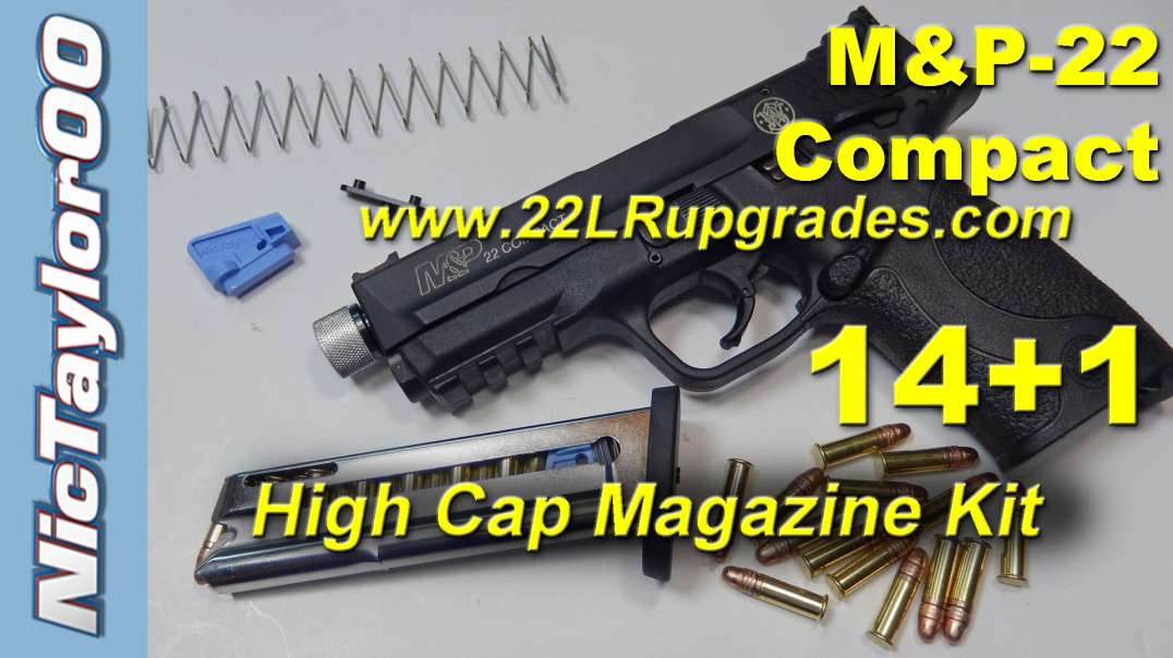 S&W M&P22 Compact 14+1 High Capacity Magazine