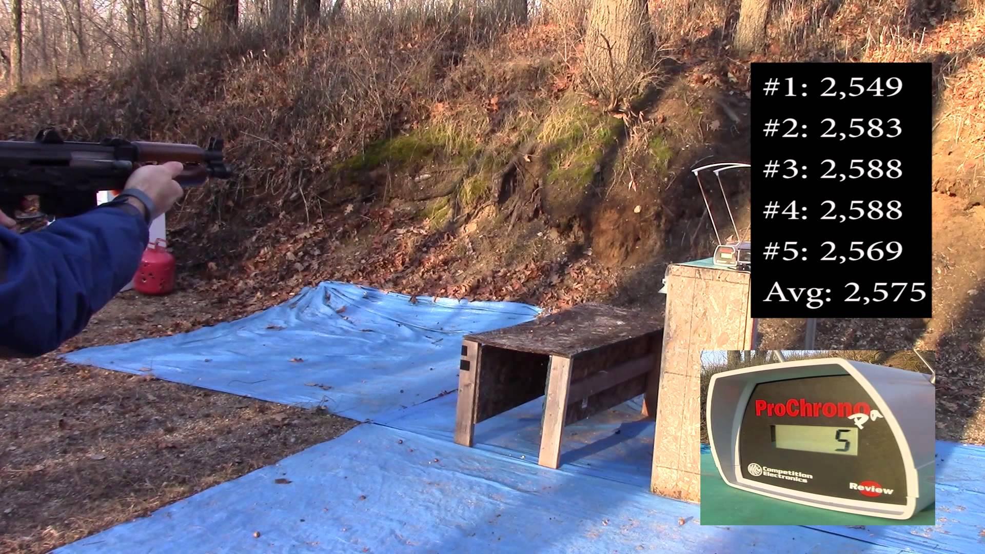 5.56x45mm, 55gr FMJ, Lake City Surplus (XM193), Velocity Tests