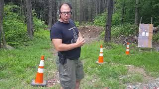 Pistol speed shooting drill