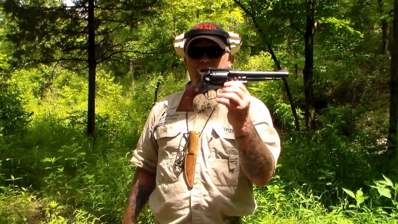 Shooting the Ruger Old Army