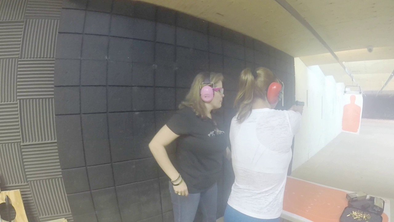 Pistol Training at Guns and Range Training Center