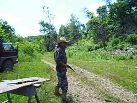 Shooting the 1851 Colt Navy carbine and 58 Remington New model Navy